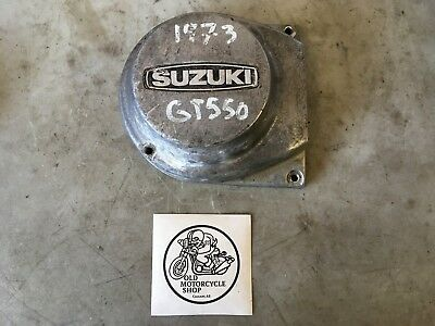 1973 Suzuki Gt 550 Alternator Stator Cover
