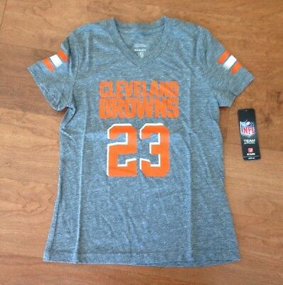 CLEVELAND BROWNS JOE Haden Jersey Style T-Shirt NWT - Youth M 10-12 ... 08610444e