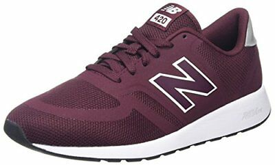 New Balance 996 Leather Sneaker Uomo Rosso Red/Wine n0q