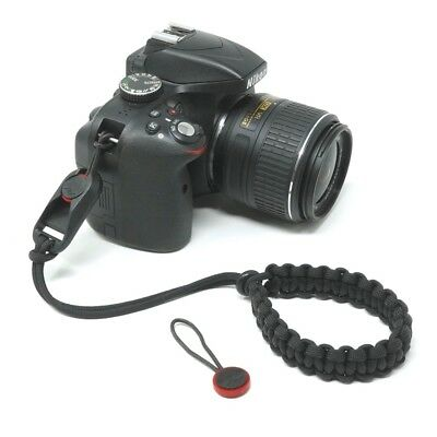 "The ""Cordy Classic PD"" Paracord Camera Wrist Strap, Peak Design AL3 - Cordweaver"