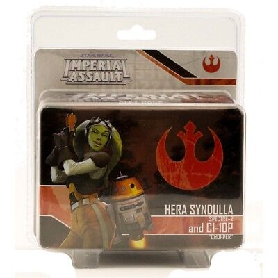 Star Wars Imperial Assault Hera Syndulla and Chopper Ally  Pack