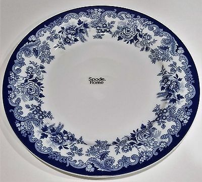 Spode Home Blue Meadow Floral Design Dinner Plates- Set Of 4 - New & SPODE HOME Blue Meadow Floral Design Dinner Plates- Set Of 4 - New ...