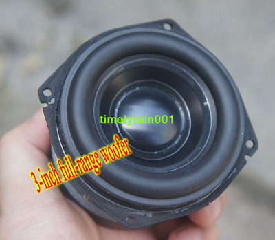 "2pcs 3"" inch full-range bass speaker for peerless Long Stroke Aluminum cone"
