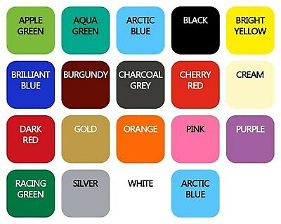 """Ceramic Wall Tile Vinyl Stickers 6"""" 150mm Bathroom Kitchen Transfer All Colours"""