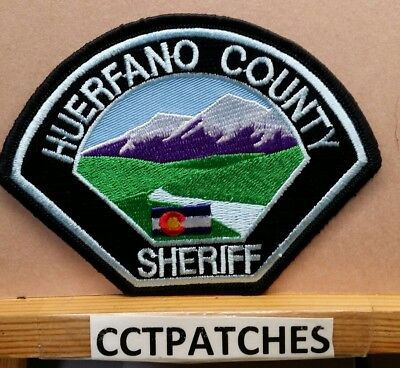 Huerfano County, Colorado Sheriff (Police) Shoulder Patch Co