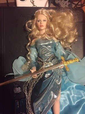 Franklin Mint Lady of the Lake / Camelot Collection Doll