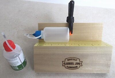 The Label Jig Mini Bottle Labeler, Multi-Size Labeling Applicator