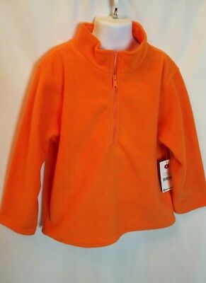 Sprokets Toddler Boy's Fleece Pullover Hoodie 1/4 Zip Long Sleeve Size 6 NWT