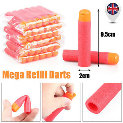 9.5cm Bullets Mega Refill Darts for Nerf N-Strike Elite Blasters Sniper Toy Gun