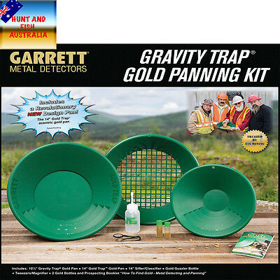 Garrett Gold Panning Kit - Gold Pan