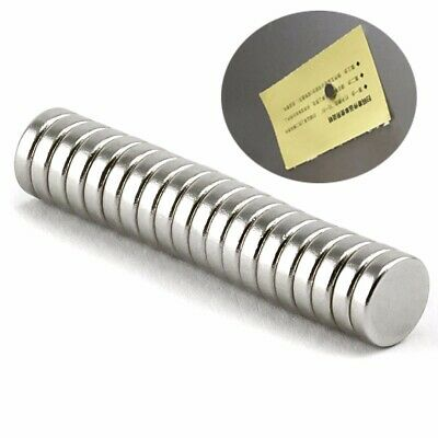 20Pcs 8x2mm Super Strong Neodymium Small Round Disc Rare Earth Cylinder Magnet