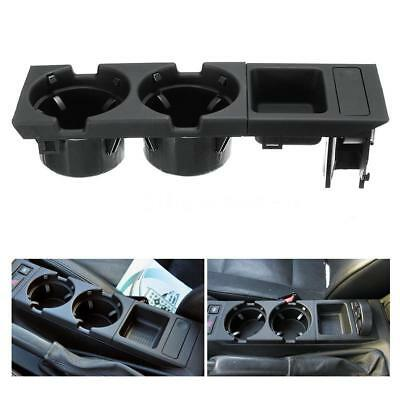 Car Front Center Console Drink Cup Holder + Coin Holder Plateau pour BMW C9C7