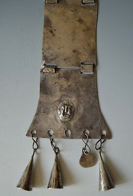 19th  Century Antique Mapuche Necklace South America