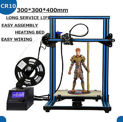 CREALITY CR-10 3D High Precision 3D Drucker LCD Screen Display Pre-Assembled Alu