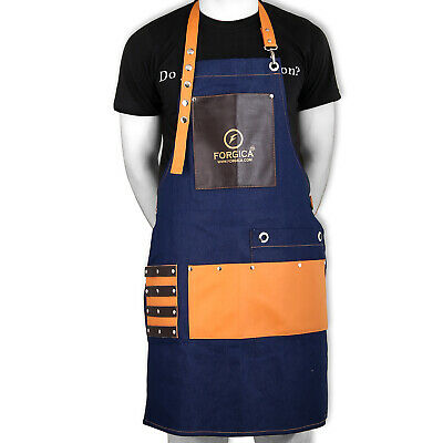 Professional Leather Hairdressing Barber Apron Cape for Barber Hairstylist