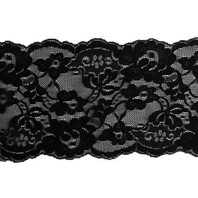 2pcs Lace Trim Flower Cloth Embroidered Applique Headband Sewing 10 Yards