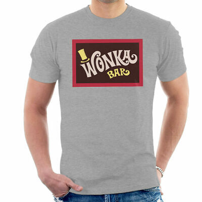 Wonka Bar Wrapper Charlie And The Chocolate Factory Men's T-Shirt