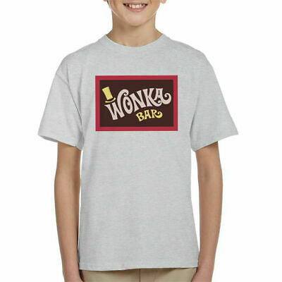 Wonka Bar Wrapper Charlie And The Chocolate Factory Kid's T-Shirt