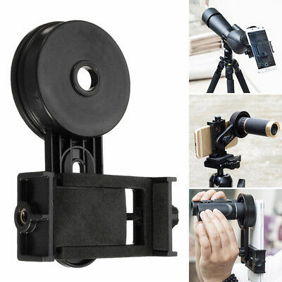 Mobile Smart Phone Telescope Adapter Holder Mount Bracket Spotting Scope Adapt