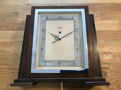 Smiths Sectric Art Deco 1930's Mantle Clock