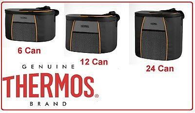 ❤ Thermos Cooler Bag Element 5 Insulated FOOD Storage Camping 6 / 12 / 24 Can ❤