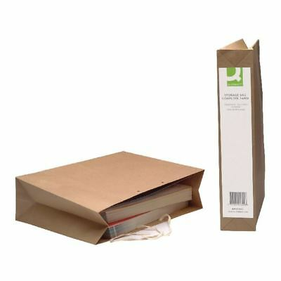 Q-Connect Manilla Computer Paper Storage Bag (Pack of 25)  [KF01392]