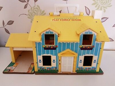 Fisher Price Haus ♡ PLAY FAMILY HOUSE  952 VINTAGE 70er ohne Zubehör