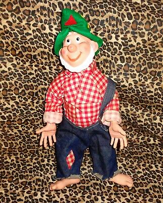 X-RARE & VINTAGE MOUNTAIN DEW HILLBILLY DOLL FROM APPROX= 1960's -CONTEST PRIZE