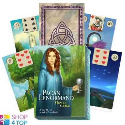 Pagan Lenormand Oracle Cards Deck Tuan Esoteric Telling Lo Scarabeo New