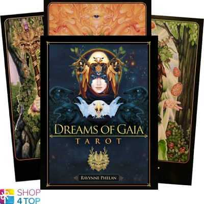 Dreams Of Gaia Tarot Deck Cards Esoteric Fortune Telling Blue Angel New