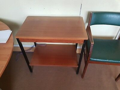 Small Desk Side Chair Table For Office Or Home Use 017f