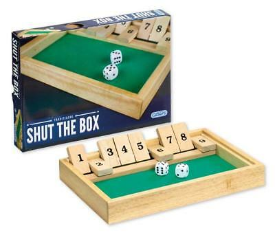 Quality 'SHUT THE BOX' Traditional Pub Dice Game 28 x 20cm- *BRAND NEW & SEALED*