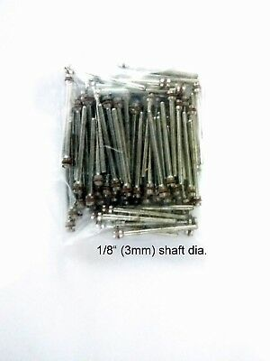 50 pieces Screw Rotary Mandrel 3mm shaft adaptor  for Dremel or foredom