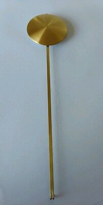Brass Plated Pendulum Bob Diameter 80mm Rod 330mm