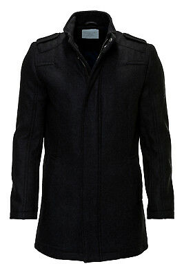 Selected Herren Wollmantel Wintermantel Wool Jacket Herrenmantel Mantel SALE %