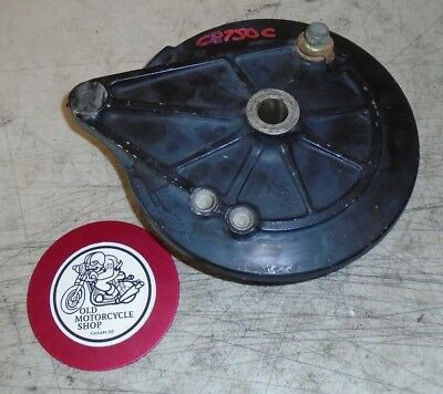 1982 HONDA CB750c  REAR BRAKE PLATE