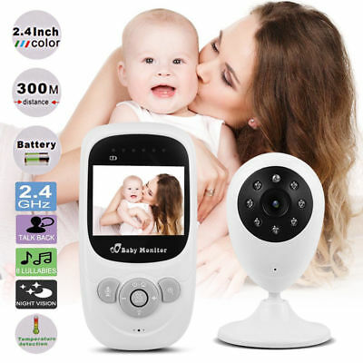 Wireless Video Baby Monitor Security Camera Talk Night Vision Music