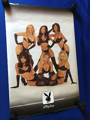 vintage 1998 Special Limited Playboy Magazine BUNNIES POSTER 23x35in Impact