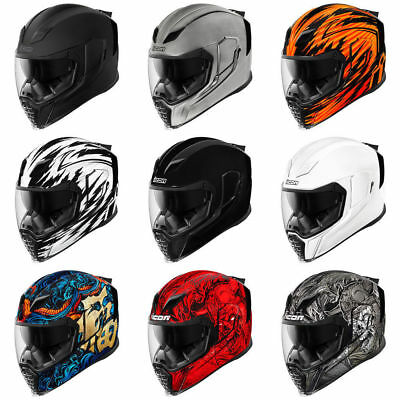 *Ships Same Day* ICON AIRFLITE Motorcycle Helmet Full Face (ALL COLORS)