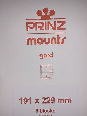 Prinz Stamp Mounts 191/229  ***We Are A Veteran Supportive Business***