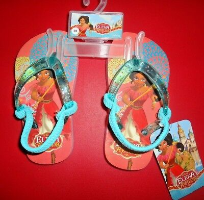 1b9969b3d NWT Toddler Girls Elena of Avalor Sandals Flip Flops Disney Toddler Sz 5 6