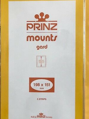 Prinz Stamp Mounts 198/151 ***We Are A Veteran Supportive Business***