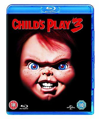 CHILD'S PLAY 3 (1991) Blu-Ray BRAND NEW Free Shipping - USA Compatible