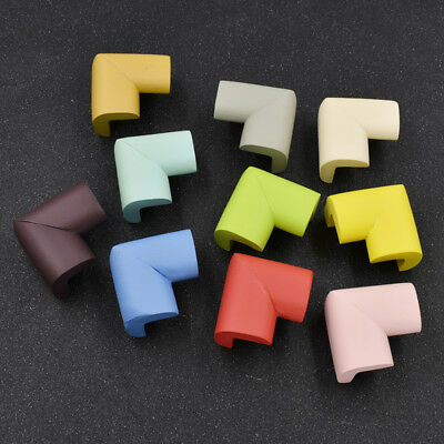 10pcs Baby Kid Safety Proofing Soft Foam Guard Corner Table Edge Protector Angle