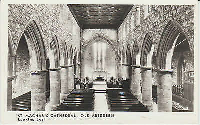 Aberdeen - St Machars Cathedral -  Real Photo-Vintage Postcard  R/p #