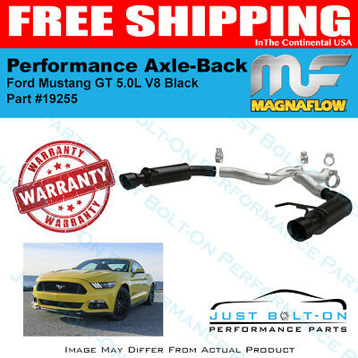 Magnaflow Competition Black Axle-Back For 2015-2017 Mustang GT 5.0L #19255