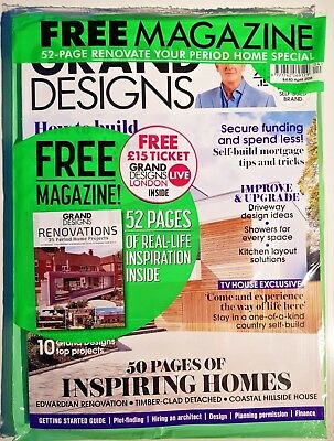 Grand Designs magazine = APRIL 2018 = 50 PAGES OF INSPIRING HOMES