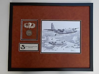 1/507Th Parachute Training   3 Inch Jump Wings 1/507Th Coin And  Double Mat