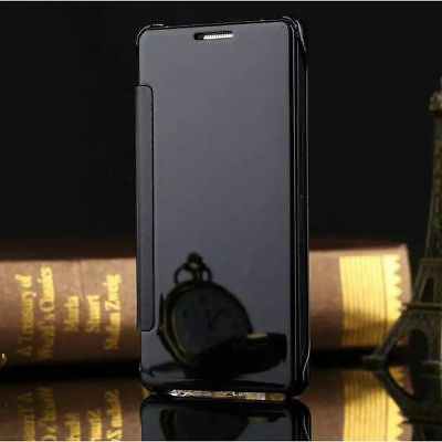 New Mirror Flip Case Cover For Samsung GALAXY A3/5/7/8/9 C5/7 Note4/5 Phones