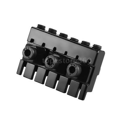 6-string Headless Electric Guitar String Locking Nut Set with 2 Wrench 2 T6P9